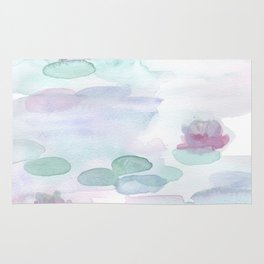 Monet Lily pads Rug