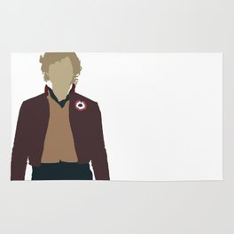 Enjolras - Aaron Tveit - Les Miserables Minimalist design Rug
