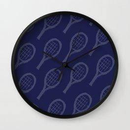 NAVY racquets Wall Clock