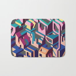 Psychedelic Dissection Bath Mat
