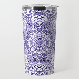 Mandala Lavender Colorburst Travel Mug