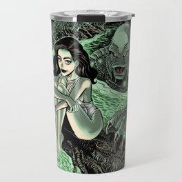Julia Adams and the Creature from the Black Lagoon Travel Mug