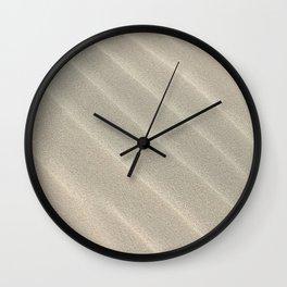 Sand Waves Wall Clock