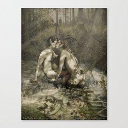 Satyriasis Print 2 Canvas Print
