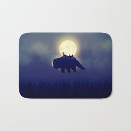 The End of All Things - Night Version Bath Mat