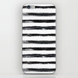 Grungy stripes iPhone Skin