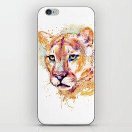 Cougar Head iPhone Skin