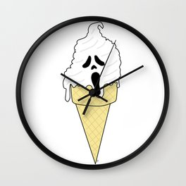 Ice Scream Wall Clock