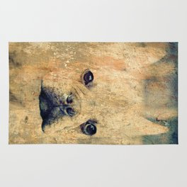 Dog art image Rug