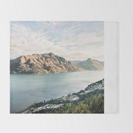 Queenstown, New Zealand Throw Blanket