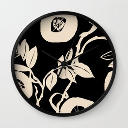 trailing vine Wall Clock