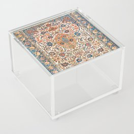 Isfahan Antique Central Persian Carpet Print Acrylic Box