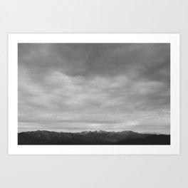 Beyond the Distance Art Print