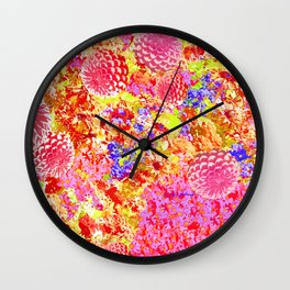 Daisies for Mum Wall Clock