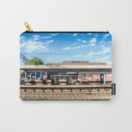Miniature People at the Station Carry-All Pouch