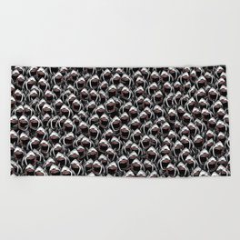 Great white sharks Beach Towel