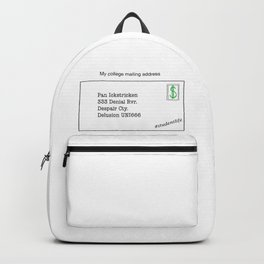 College Mailing Address Backpack