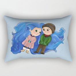 Ice - Eternal Sunshine Rectangular Pillow