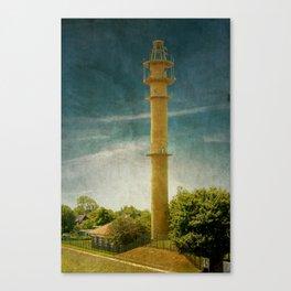 DE - Niedersachsen Old lighthouse in Schillig Canvas Print