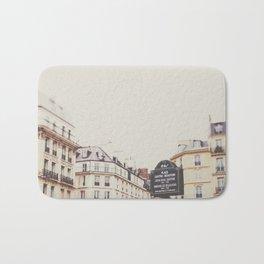 Place Sartre Beauvoir Bath Mat