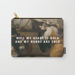 Jusepe de Ribera, Women Gladiators (1636) / Halsey, Gasoline (2015) Carry-All Pouch