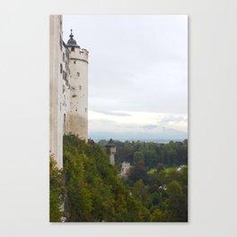 A view from Festung Hohensalzburg II Canvas Print