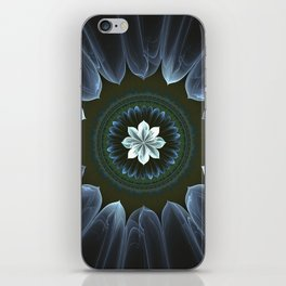 Blossom Within in White iPhone Skin