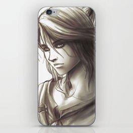 The Witcher 3 - Ciri / Geralt Artwork iPhone Skin