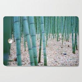 The Bamboo Grove, Arashiyama, Kyoto Cutting Board