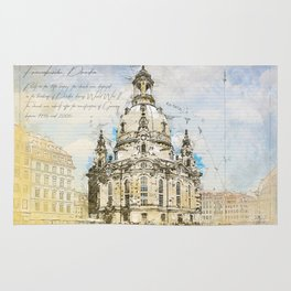 Frauenkirche, Dresden Germany Rug