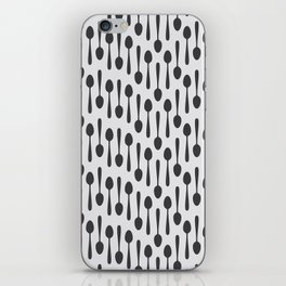 Kitchen cutlery spoons iPhone Skin