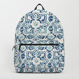 Azulejo IV - Portuguese hand painted tiles Backpack