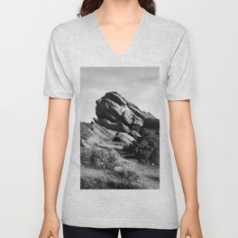 Vasquez Rocks Unisex V-Neck