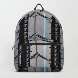 Tread pattern truck tire Backpack