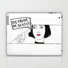 Ice Cream or Death Laptop & iPad Skin