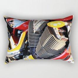 Motorcycle Rectangular Pillow