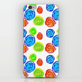 Doodles balls 3 iPhone Skin