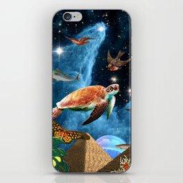 HEAVEN AND EARTH iPhone Skin