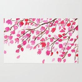 Rain of Cherry Blossom Rug