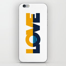 LOVE - People's Flag of Milwaukee iPhone Skin