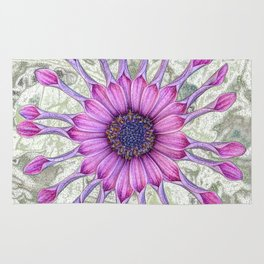 Daisy (flowers collection) Rug