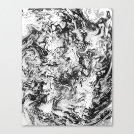 Suminagashi Series (Wei Qi) 卫气 Canvas Print