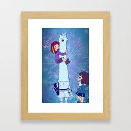 Pet the Dog - Game Grumps Undertale Framed Art Print