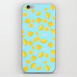 Lemons citrons iPhone Skin