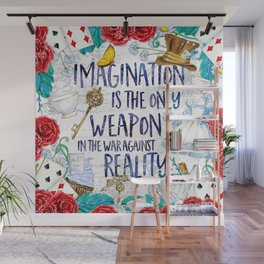 Alice in Wonderland - Imagination Wall Mural