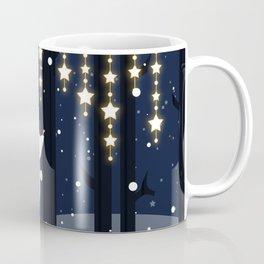 Fox and stars Coffee Mug