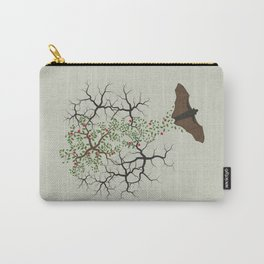 fruit bat paints forest Carry-All Pouch