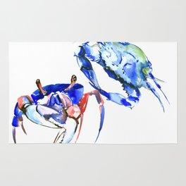 Blue Crabs Rug