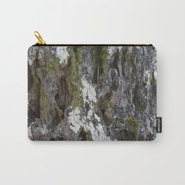 Old tree with character Carry-All Pouch