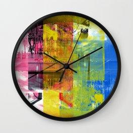 Focused on the possibility offered by simple acts. [CMYK] Wall Clock